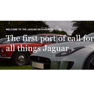Jaguar Enthusiasts' Club Meeting