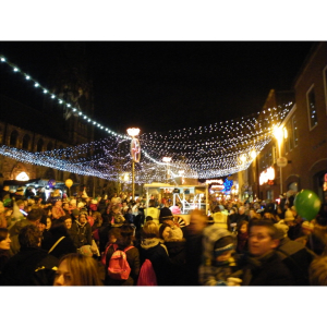Lichfield Christmas Lights Switch On