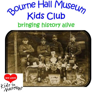 Christmas in the Trenches at Bourne Hall Museum Kids Club @epsomewellbc #Christmas @kidsdinmuseums