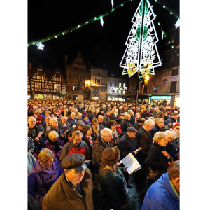 Carols in the Square in Shrewsbury 2019
