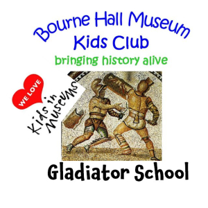 Ready for class? Gladiator School at Bourne Hall Museum Kids Club #epsomewellbc #kidsinmuseums