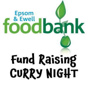 Curry Night fund raising for @EpsomFoodbank
