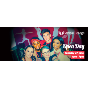 Walsall College June Open Day
