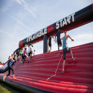 Inflatable 5k - Lingfield, Surrey
