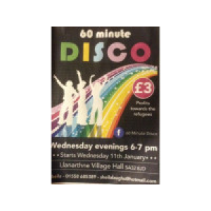 Sixty Minute Disco Exercise Class