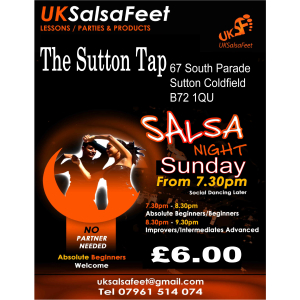 Salsa for Beginners Sutton Coldfield