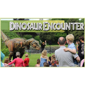 Dinosaur Encounter at Lichfield Garden Centre