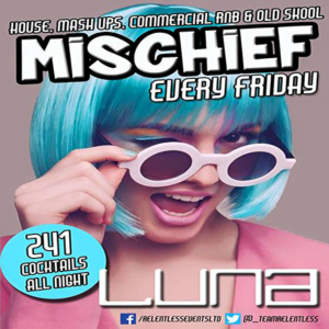 Mischief Solihull Every Friday