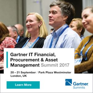 Gartner IT Financial, Procurement And Asset Management Summit 2017