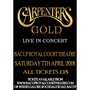 Carpenters Gold - Live In Concert