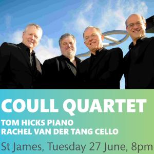 COULL QUARTET CONCERT AT ST JAMES