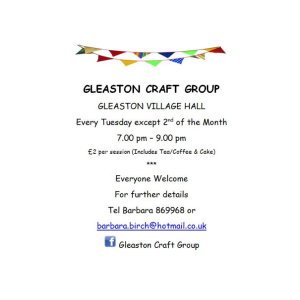 Gleaston Craft Group
