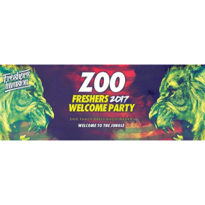 Cardiff Freshers Welcome Party | ZOO Theme Special