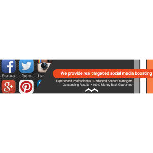 BuyRealSocialMarketing| Professional Social Boosting