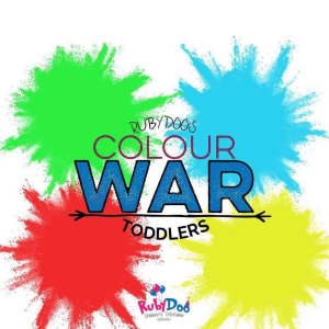 Toddler Colour War with Ruby Doo!