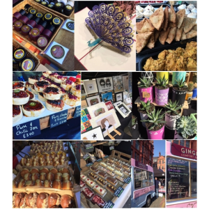 Makers Market at NQ August 2017