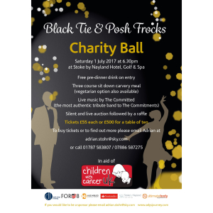 The Black Tie and Posh Frocks Charity Ball 2017