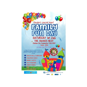 Hayden's Special Heart Family Fun Day Sat 1st July