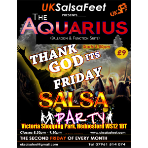 Thank God It's Friday Salsa Party