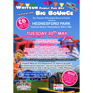 The Big Bounce Whitsun Week Funday in Hednesford Park
