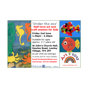 Half Term Art and Craft for Kids - 'Under the Sea'