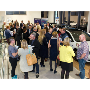 South West Business Events evening at Inchcape Volkswagen Exeter