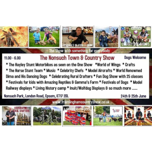 Nonsuch Town and Country Show, Nonsuch Park, #Epsom  @SuffolkFoodFest