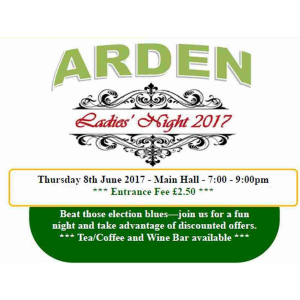 Arden Ladies Night 2017