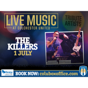 The Killers Live Music Tribute Act!