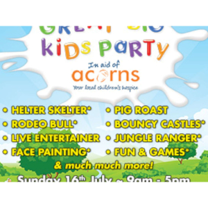 Great Big Kids Party at Earlswood Garden & Landscape Centre
