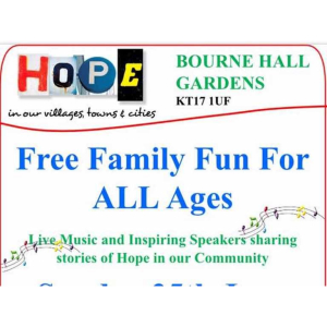 HOPE - Family Fun Day with Churches Together Ewell #ChurchesTogether