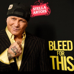 An evening with boxing legend Vinny Paz
