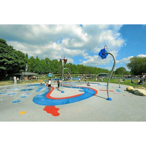 Splash Pad at Walsall Arboretum