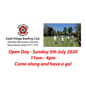 Ewell Village Bowling Club Open Day
