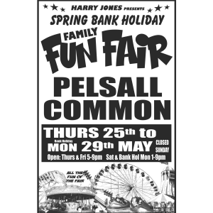 Family Fun Fair at Pelsall Common
