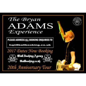 The Bryan Adams Experience - Thirsk & Sowerby Institute 20 October