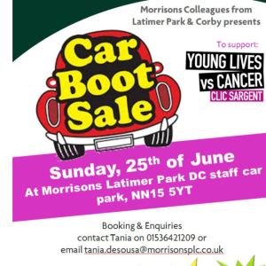 Morrisons Car Boot Sale