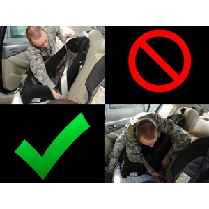 Keep your child safe by visiting car seat clinics across Bury