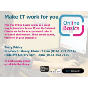Enhance your IT skills with this friendly and helpful sessions