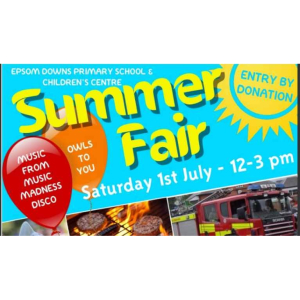 Summer Fair #Epsom Downs Primary School and Children's Centre