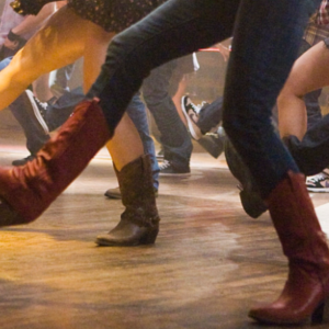 Fundraising line dancing evening in aid Tenovus cancer care