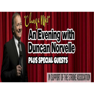 A variety evening with Duncan Norvelle at Land Rover Sports and Social Club Solihull