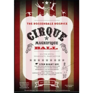 The Rossendale Hospice annual ball - Cirque  Magnifique Ball