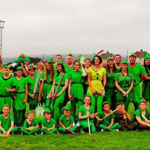 Peter Pan World Record at Kenfig Hill RFC for Latch!