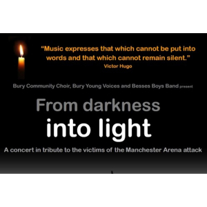 From Darkness into Light tribute concert for Manchester Fund