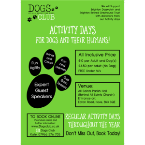 Dogs Club Activity Morning