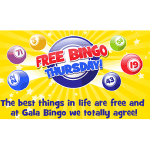 Free Bingo Thursdays at Gala Enfield!