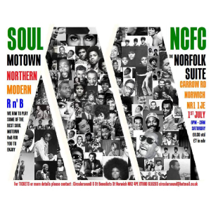 Classic 60s / 70s Soul Motown and Northern.
