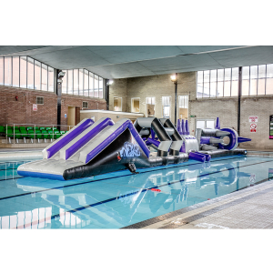 Swimming Pool Fun Session inc Spikey Island Inflatable
