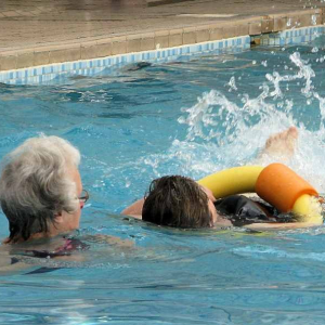 Swimming for Disabled People at Motcombe Pool